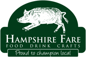 HampshireFareLogo White Solidback