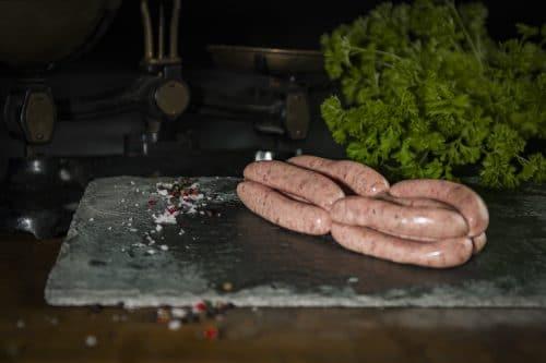 Cumberland Chipolatta The Farmers Butcher ©GrahamGParker2020 20200601 0214