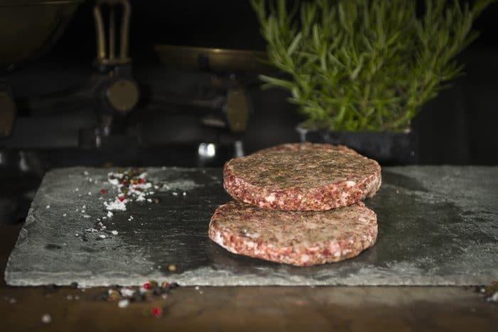 Lamb Mint Burger The Farmers Butcher