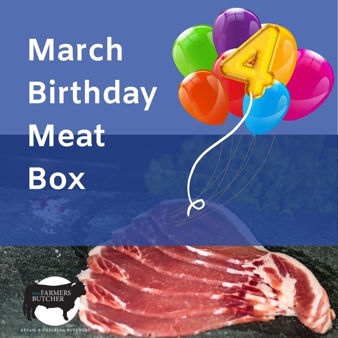 March Birthday Meat Box