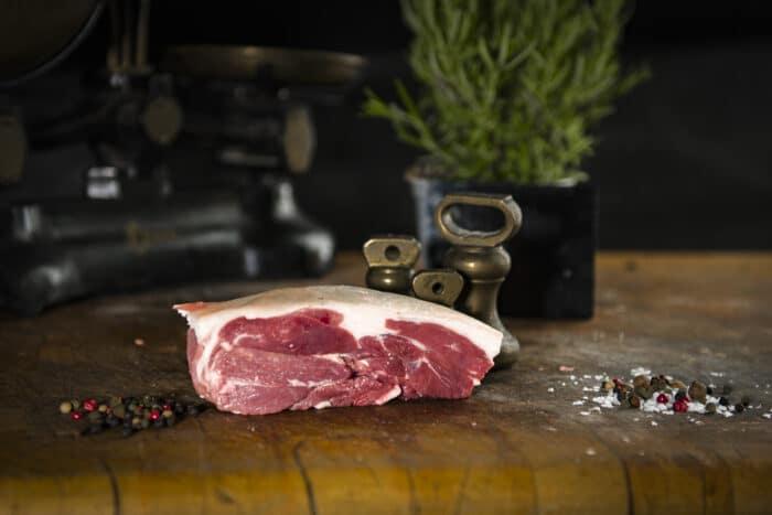 Lamb Steaks The Farmers Butcher ©GrahamGParker2020 20200601 0117