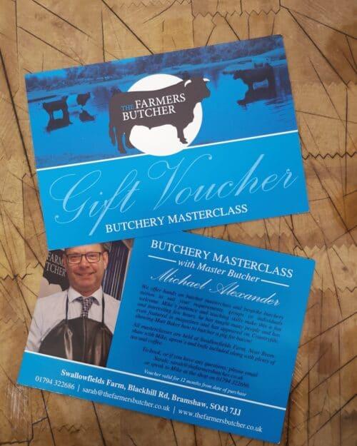 Masterclass Gift Voucher